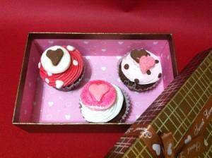 Cupcakes Día de los enamorados (San Valentin)