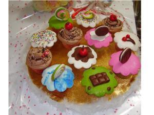 Cupcakes de golosinas